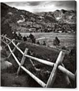 Peaceful Valley Canvas Print