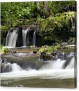 Peaceful Waterfall Canvas Print