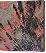 Peach Bombshell Canvas Print