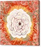 Peaches And Cream Canvas Print
