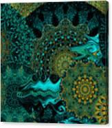 Peacock Fantasia Canvas Print