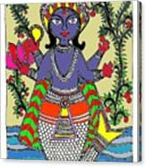 Matsya An Avatar Of Hundi God Vishnu  Canvas Print