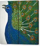 Peacock Iv Canvas Print