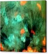 Peacock Rising Canvas Print