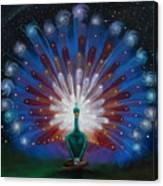 Peacocks Tale Canvas Print