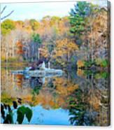 Peak Autumn Reflection 6 Canvas Print