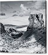 Peak Of Imagination Canvas Print
