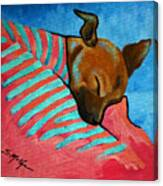 Peanut Canvas Print