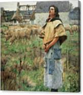 Pearce C S Sainte Genevieve Canvas Print