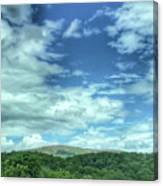 Pearisburg Virginia View Canvas Print