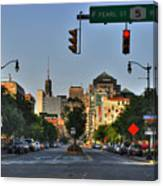 Pearl And Main Street Canvas Print
