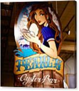 Pearls Oyster Bar Canvas Print