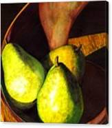 Pears No 1 Canvas Print