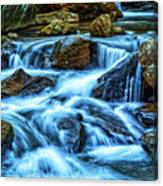 Pearsons Falls On Colt Creek Canvas Print