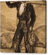 Peasant Labourers Canvas Print