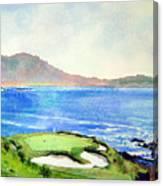 Pebble Beach Gc 7th Hole Canvas Print