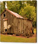 Cypress Shed Canvas Print