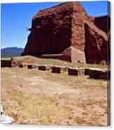 Pecos Mission New Mexico - 2 Canvas Print