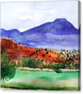 Pedernal Canvas Print