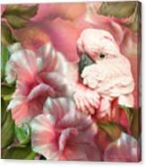 Peek A Boo Cockatoo Canvas Print
