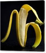 Peeled Banana. Canvas Print
