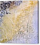 Peeling Paint And Pastels Canvas Print