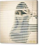 Peeping Alex Canvas Print