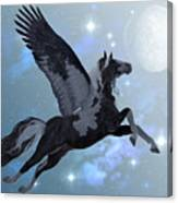 Pegasus Flight Canvas Print