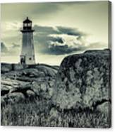Peggys Cove Lighthouse Canvas Print