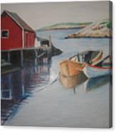 Peggys Cove Canvas Print