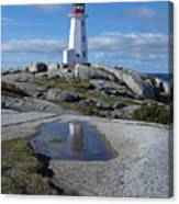 Peggys Cove Nova Scotia Canada Canvas Print