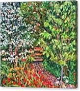 Peggys Garden Canvas Print