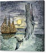 Pehe Nu-e: Moby Dick Canvas Print