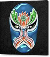 Peking Opera Face-paint Masks - Zhongli Chun Canvas Print
