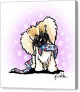 Pekingese Puppy Canvas Print
