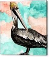 Pelican 3 Canvas Print