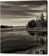 Pelican Bay Morning - Yellowstone Canvas Print