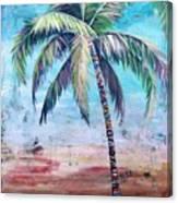 Pelican Palm II Canvas Print