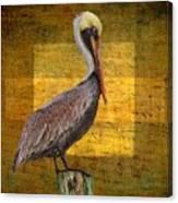 Pelican Poetry Canvas Print
