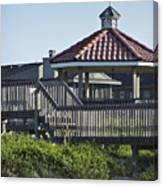 Pelican Weathervane Ocean Isle Norht Carolina Canvas Print