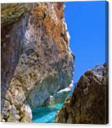 Pelion Rocks Canvas Print