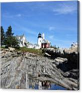 Pemaquid Light Canvas Print
