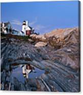 Pemaquid Point Lighthouse - D002139 Canvas Print