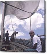 Pemba Boat Canvas Print