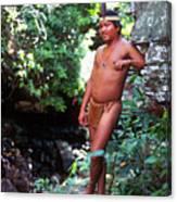 Pemon Tribe Canvas Print