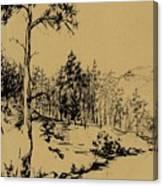 Colorado Landscape Canvas Print