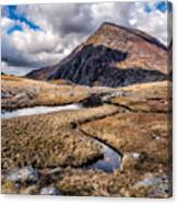 Pen Yr Ole Wen Mountain Canvas Print