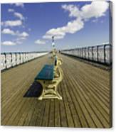 Penarth Pier 9 Canvas Print