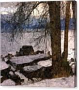 Pend D'oreille Lake 3 Canvas Print