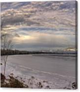 Pend D'oreille Lake Panorama Canvas Print